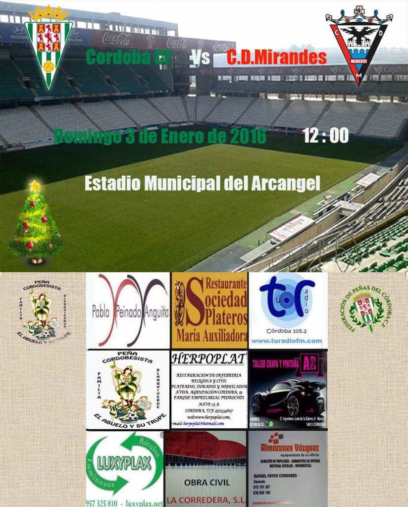 Cordoba Vs Cd Mirandes