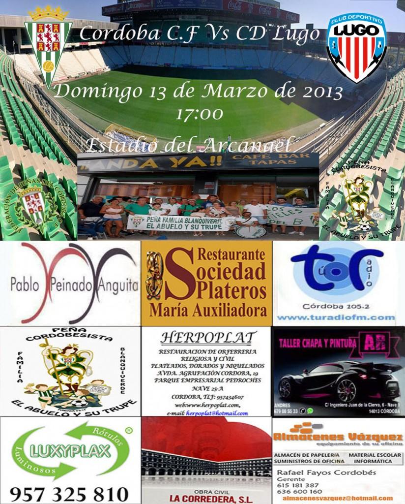 Cordoba vs Lugo