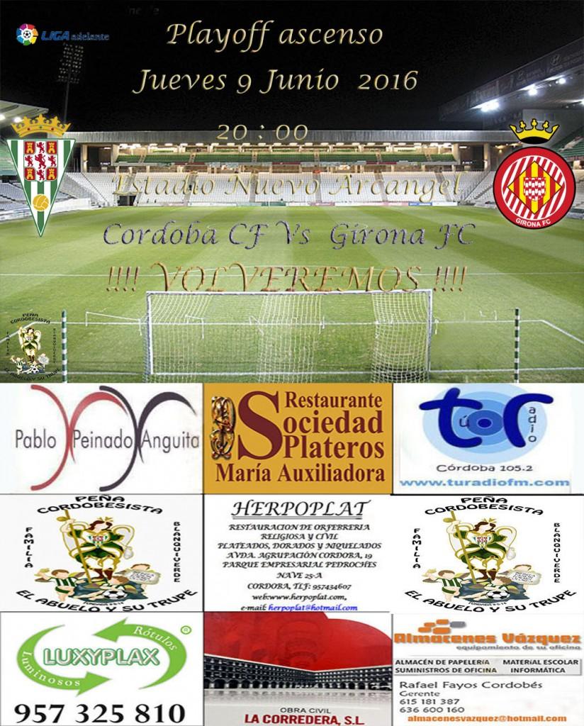 Cordoba VS Girona playoff