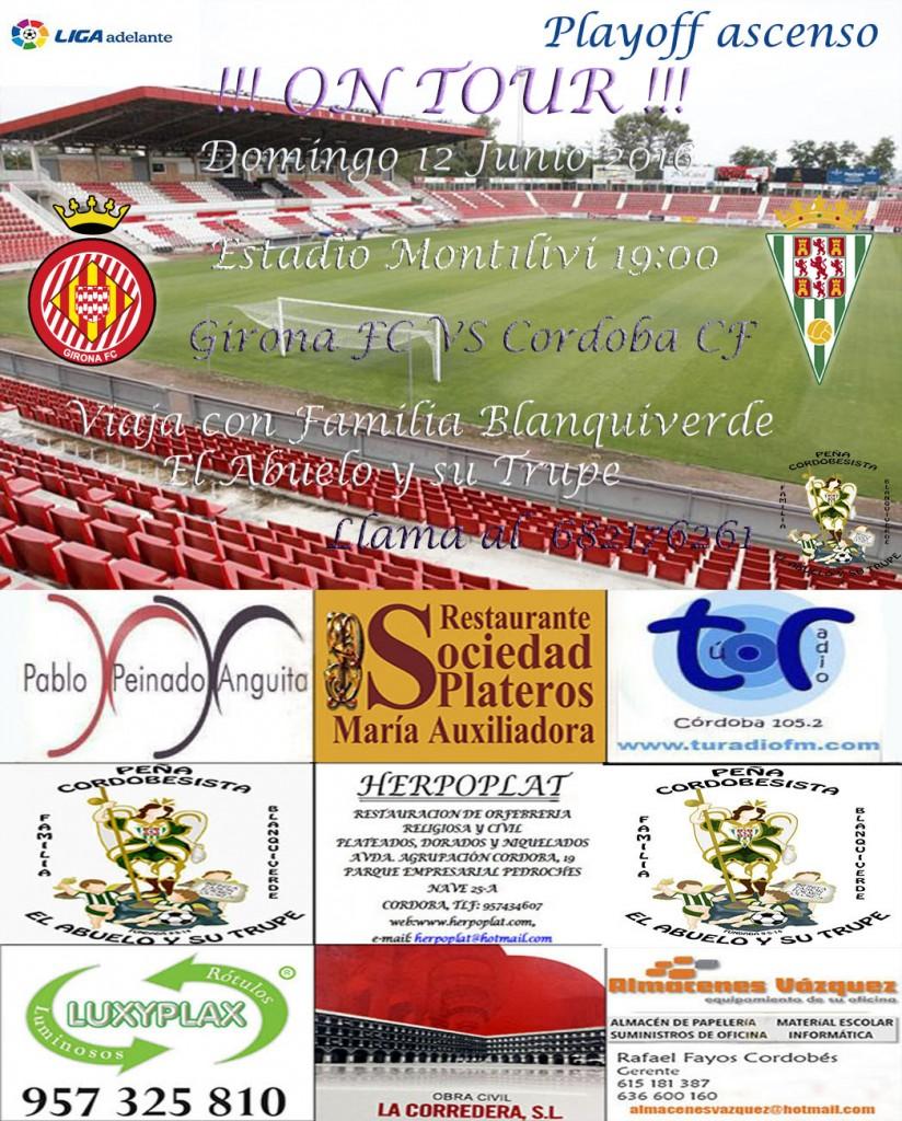 Girona vs Cordoba playoff vuelta